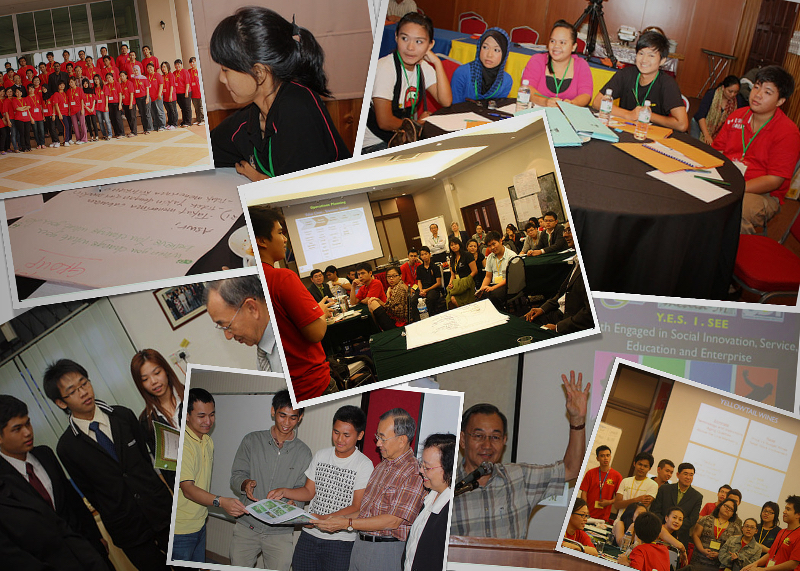 Photos from around the SarawakYES! initiative.
