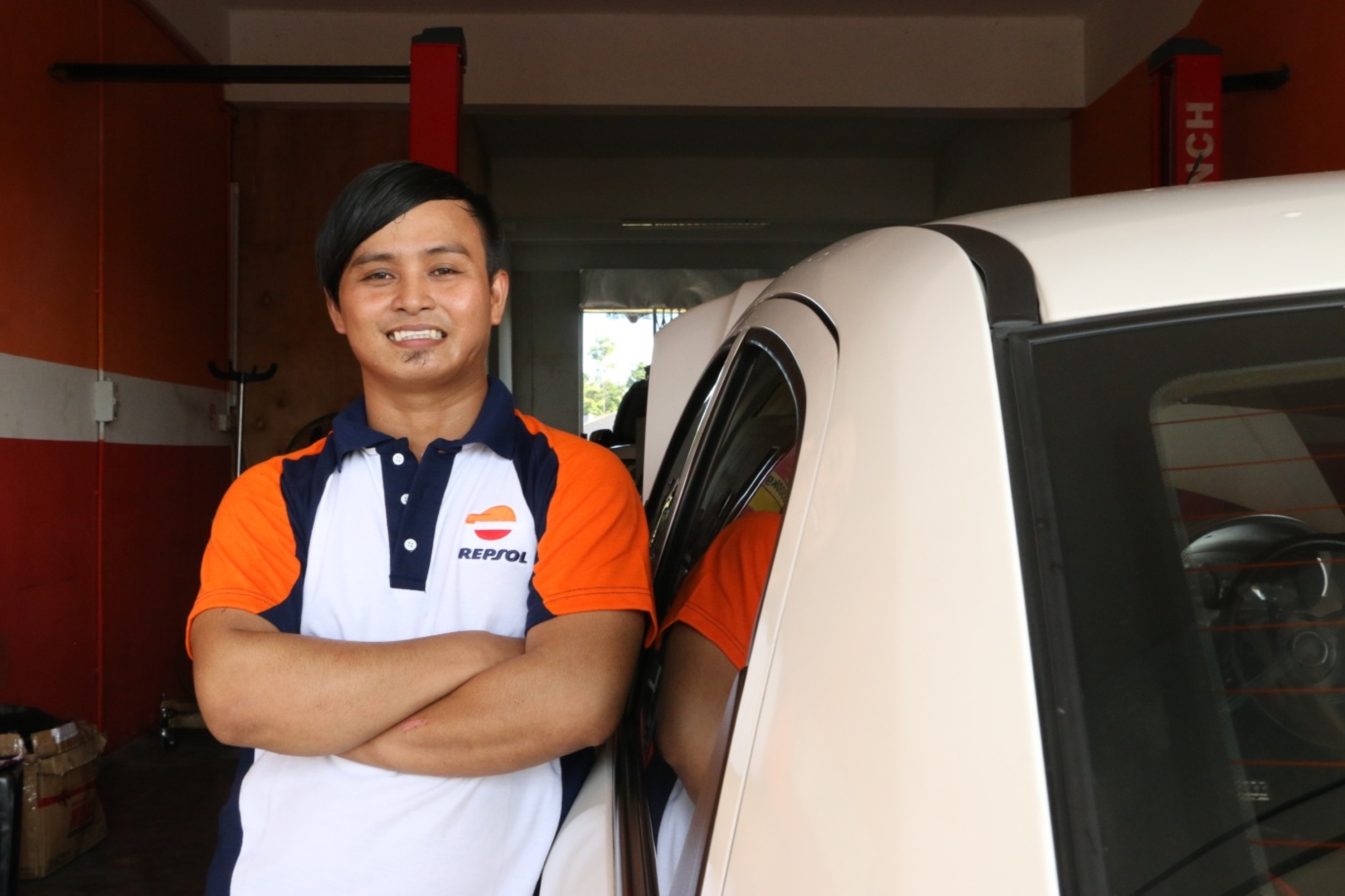 From car wash attendant to car workshop owner