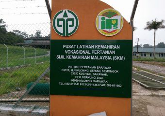 Getting Trained in Agriculture in Sarawak